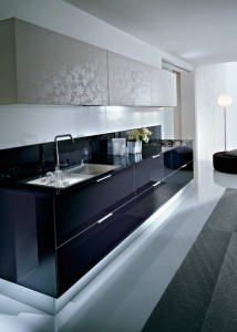 Glass Counter top - Pedini Cucine