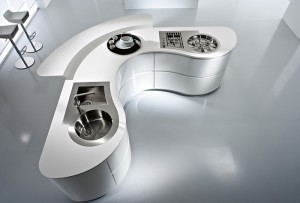 Corian counter top - Pedini Cucine