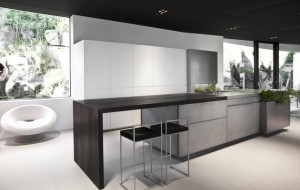 A concrete kitchen, made entirely out of ultra-thin 8mm concrete...