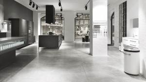 The Vipp kitchen is sold in Vipp Flagship Store in Copenhagen.
