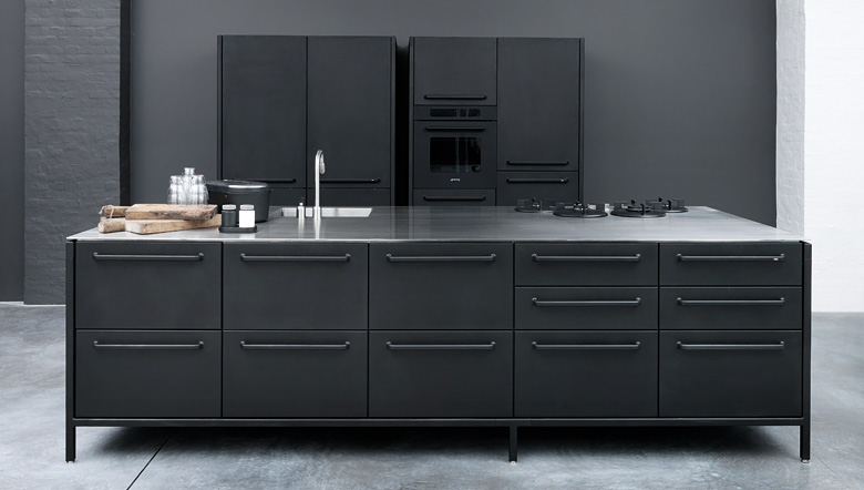 Contemporary kitchens european kitchen for Cuisine vipp