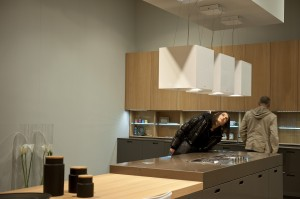 During Eurocucina, Fiera Milano, 2012. Photo by Annalisa Cimmino – Courtesy Cosmit spa